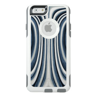 Earth Toned Blue Abstract Pattern OtterBox iPhone 6/6s Case