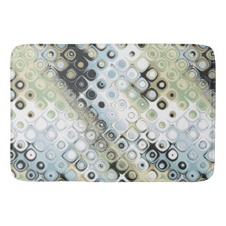 Earth Tones Pattern Bath Mat