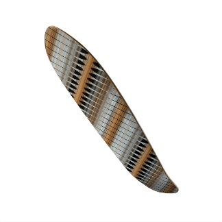 Earth Tones Peruvian Array Skateboard Deck