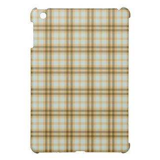 Earth Tones Plaid Pattern iPad Speck Case iPad Mini Cases