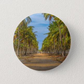 Earth Topical Road Porto Galinhas Brazil 6 Cm Round Badge
