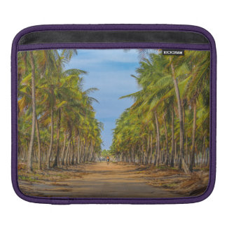 Earth Topical Road Porto Galinhas Brazil iPad Sleeve