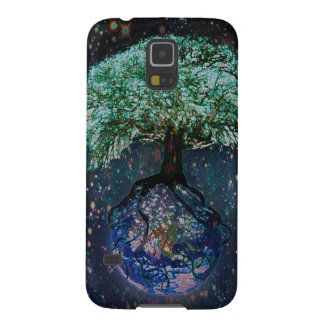 Earth Tree of Life Case For Galaxy S5