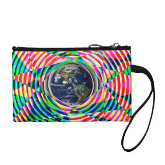 Earth Vibes by Kenneth Yoncich Change Purses