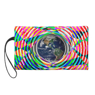 Earth Vibes by Kenneth Yoncich Wristlet