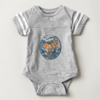 Earth View focused on the Cradle of Civilization Baby Bodysuit