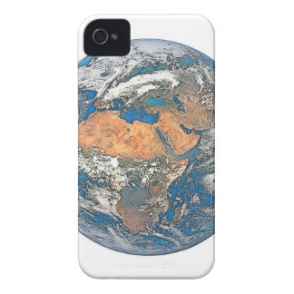 Earth View focused on the Cradle of Civilization iPhone 4 Covers