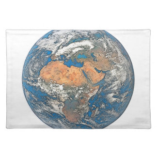 Earth View focused on the Cradle of Civilization Placemat