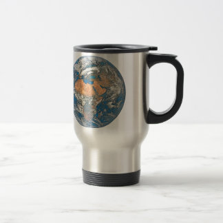 Earth View focused on the Cradle of Civilization Travel Mug