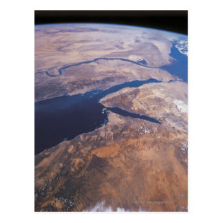 Earth Viewed from Space Postcard