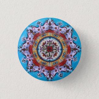 Earth-Water-Fire... Mandala Pin Button