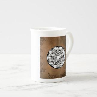 'Earth Wheel' Bone China Mug