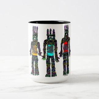 Earth Wind and Fire Two-Tone Coffee Mug