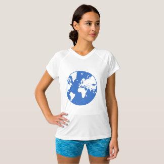 Earth / Women's Champion Double-Dry V-Neck T-Shirt