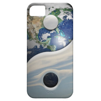 Earth Yin and Yang Symbol iPhone 5 Case
