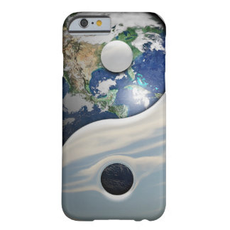 Earth Yin and Yang Symbol iPhone 6 Case