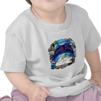 EARTHDAY 2011 DESIGN FROM DAVID M BOOTH TEE SHIRT