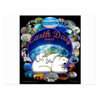 EARTHDAY 2011 POSTCARDS