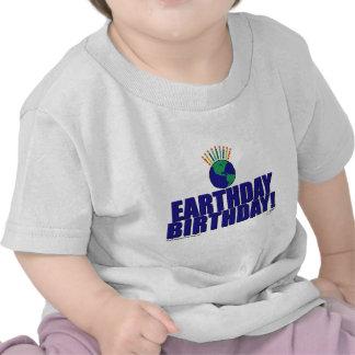 Earthday Birthday Tshirt