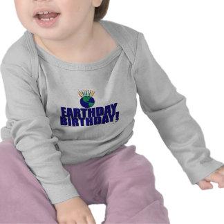 Earthday Birthday T Shirts