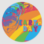 Earthday T Shirts and Gifts Round Sticker