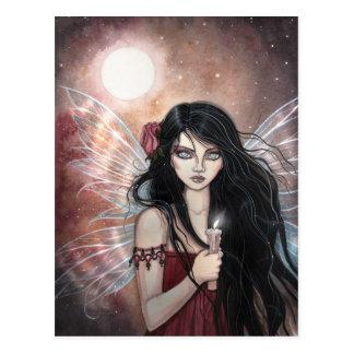Earthen Dusk Fantasy Fairy Postcard