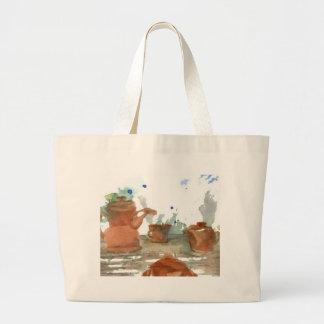 Earthenware CricketDiane Coffee Art Canvas Bags