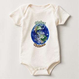 EarthGlobe3.png Baby Bodysuit