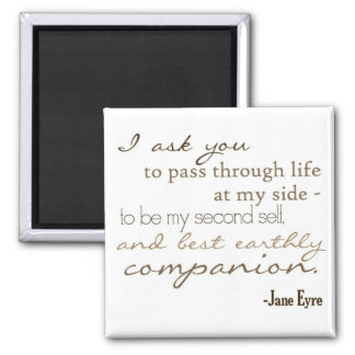Earthly Companion Fridge Magnets