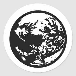 EarthMother Classic Round Sticker