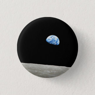 Earthrise 3 Cm Round Badge