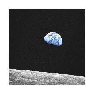 Earthrise - Apollo 8 Canvas Print