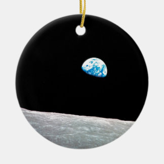 Earthrise Ceramic Ornament