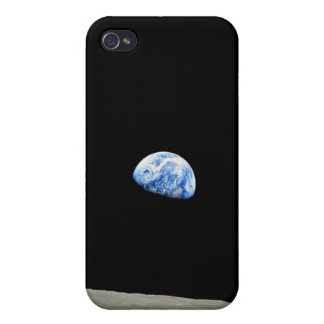 Earthrise: Earth seen from Space  Cover For iPhone 4