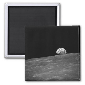 Earthrise from Apollo 8 Moon Mission Fridge Magnets