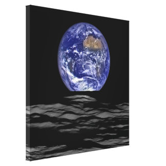 Earthrise From The Farside Of The Moon Canvas Print