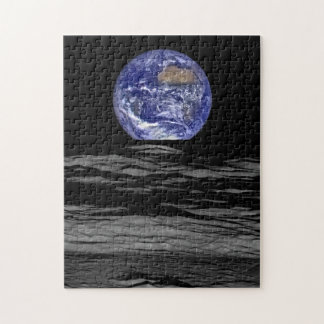Earthrise From The Farside Of The Moon Jigsaw Puzzle