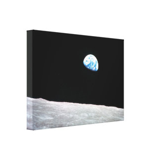 Earthrise - The Lunar Perspective Canvas Prints