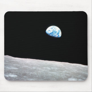 Earthrise - The Lunar Perspective Mouse Pad