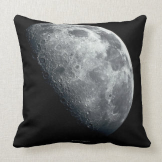 Earths Moon Throw Pillow