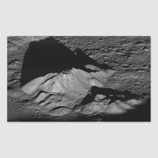 Earth's Moon Tycho Crater Central Peak Sticker