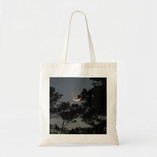 Earthshine Moon Tote Bag