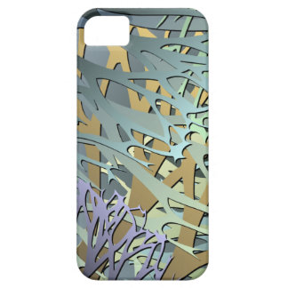 Earthy Abstract 3D Look Undergrowth iPhone 5 Case