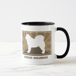 Earthy Alaskan Malamute Mug