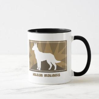 Earthy Belgian Malinois Mug