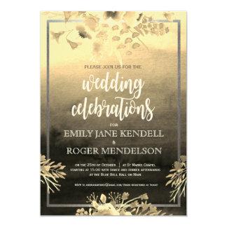 Earthy Color Landscapel Wedding Invitation