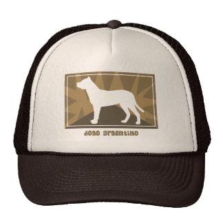 Earthy Dogo Argentino Cap