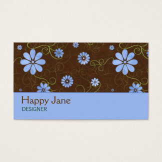 Earthy Flowers Business Card