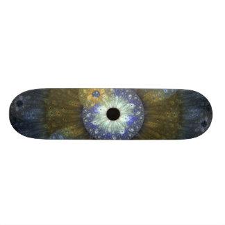 Earthy Fractal Skateboard