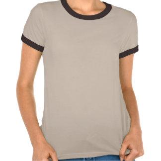 Earthy Golden Fractal OM Sign Shirt